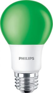 BC8A19/LED/GREEN/P/ND 120V