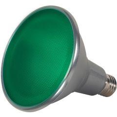 15PAR38/LED/40'/GREEN/120V